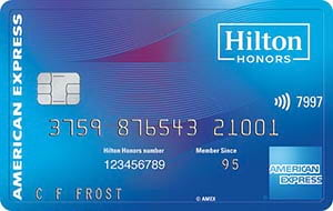 Hilton HHonors Card from American Express