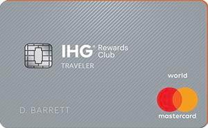 IHG<sup>®</sup> Rewards Club Traveler Credit Card