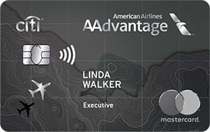 citi / aadvantage executive world elite mastercard
