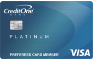 credit one bank visa with free credit score access