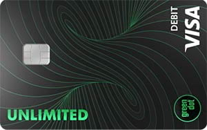 unlimited cash back bank account by green dot