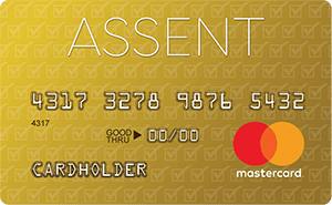 assent platinum 0% intro rate mastercard secured credit card