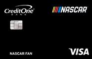 credit one bank nascar visa credit card