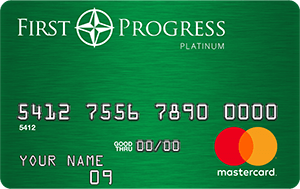 Secured Credit Card: First Progress
