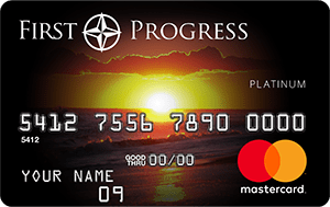 Secured Credit Card: First Progress Platinum Select