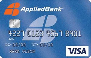 Applied Bank<sup>®</sup> Unsecured Classic Visa<sup>®</sup> Card