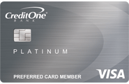 Credit One Bank<sup>®</sup> Unsecured Visa<sup>®</sup> with Cash Back Rewards