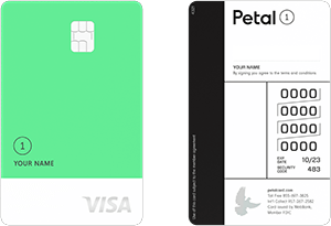 petal 1 no annual fee visa credit card