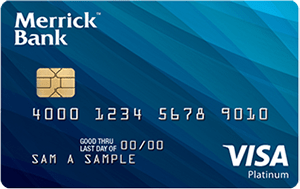 Merrick Bank Double Your Line™ Secured Visa<sup>®</sup>
