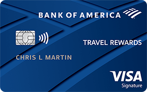 Bank of America<sup>®</sup> Travel Rewards credit card