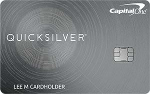 capital one quicksilver cash rewards for good credit