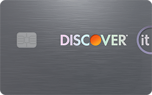 Discover it<sup>®</sup> Secured Credit Card