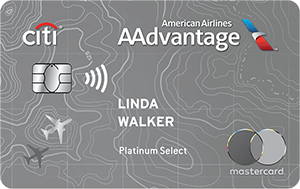 Citi<sup>®</sup> / AAdvantage<sup>®</sup> Platinum Select<sup>®</sup> World Elite Mastercard<sup>®</sup>