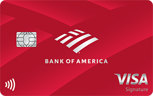 Bank of America<sup>®</sup> Cash Rewards credit card