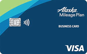 alaska airlines visa business credit card
