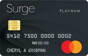 Surge Secured Mastercard<sup>®</sup>