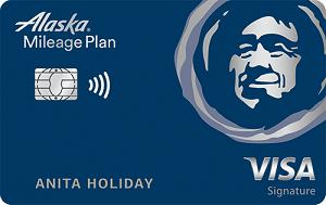 Alaska Airlines Visa Signature<sup>®</sup> credit card