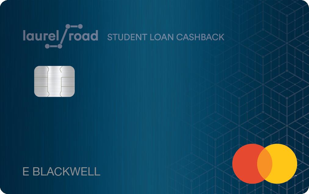laurel road student loan cash back credit card
