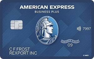 the blue business plus credit card from american express