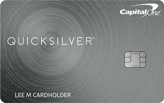 Capital One Quicksilver Cash Rewards Credit Card