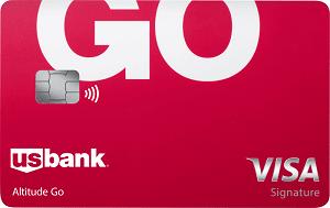 U.S. Bank Altitude<sup>®</sup> Go Visa Signature<sup>®</sup> Card