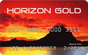 Prepaid Debit Credit Card: Horizon Gold Card